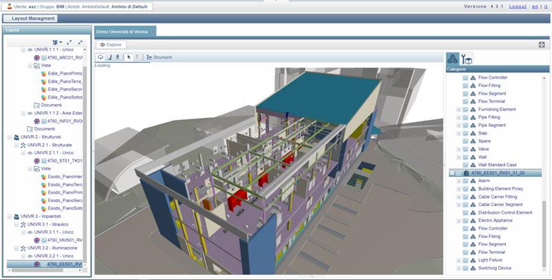 Visualizzazione-Elaborati-CAD-Common-Data-Environment-Project-Information-Model-Geoweb