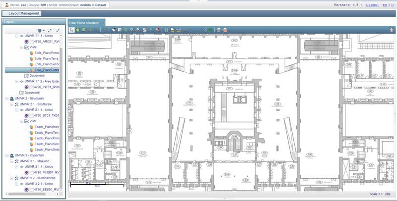 Visualizzazione-Nuvole-Punti-Common-Data-Environment-Project-Information-Model-Geoweb